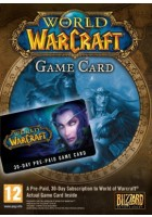 obrázek World of Warcraft EU 30 Day Pre-Paid Card / 30 dní - karta
